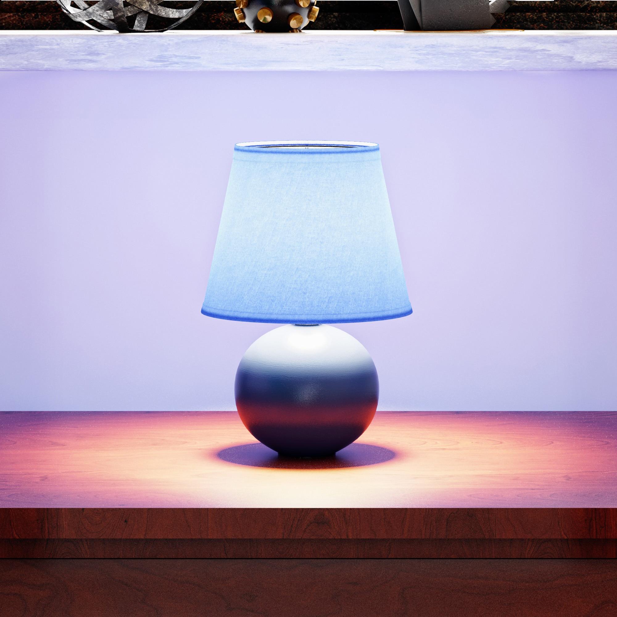 thumbnail 8 - Porch-amp-Den-Clarence-Mini-Ceramic-Globe-Table-Lamp