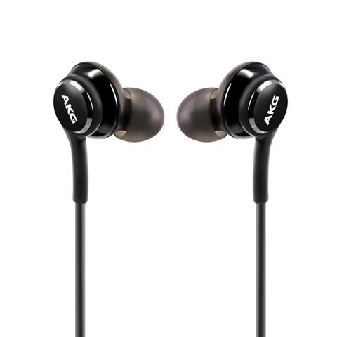 Samsung Black In-Ear Stereo Headset Earphones EO-IG955 for Samsung Galaxy S8/ S8 Plus (Bulk Package)