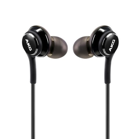 Samsung Black OEM In-Ear Stereo Headset Earphones EO-IG955 for Samsung Galaxy S8/ S8 Plus (Bulk Packaging)