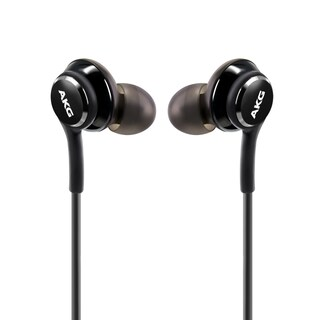 Samsung Black In-Ear Stereo Headset Earphones EO-IG955 for Samsung Galaxy S8/ S8 Plus (Bulk Package)