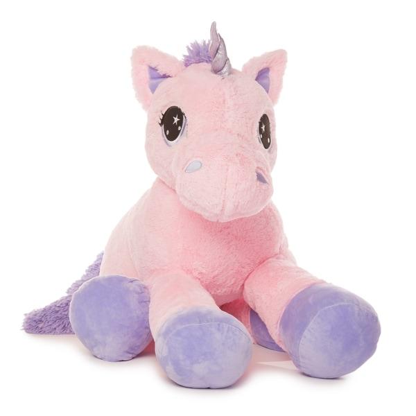 Shop Best Made Toys Jumbo Unicorn Giant Plush Animal - Over 4 feet ... b9b72d764