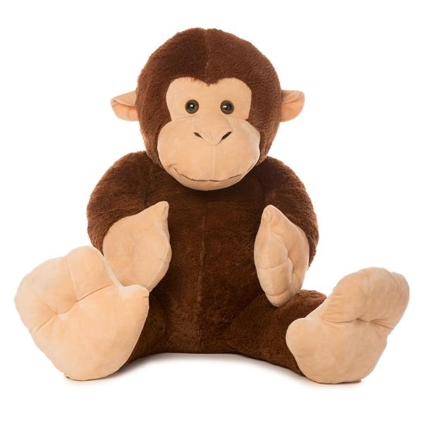 Shop Best Made Toys Jumbo Monkey Giant Plush Animal Over 4 Feet