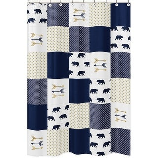 Sweet Jojo Designs Shower Curtain for the Big Bear Collection