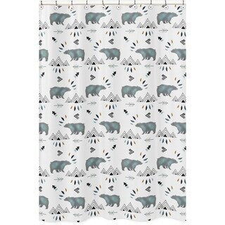 Sweet Jojo Designs Shower Curtain for the Bear Mountain Collection