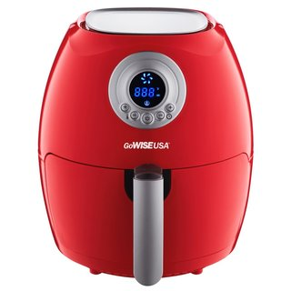 GoWISE USA 2.75-Quart Digital Air Fryer,   Red