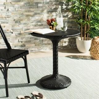 Safavieh Outdoor Living Bilson Black Rattan Bistro Table|https://ak1.ostkcdn.com/images/products/18118220/P24272780.jpg?_ostk_perf_=percv&impolicy=medium