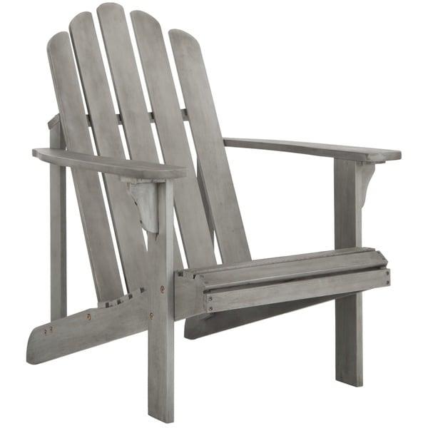 Safavieh Topher Grey Wash Adirondack Chair