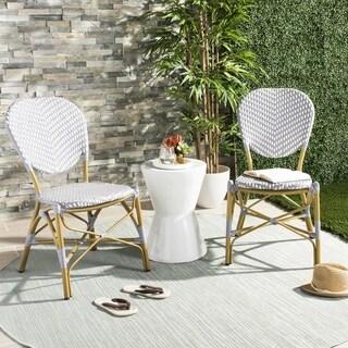Shop Paris Bistro Chairs Set Of 2 Overstock 9173193