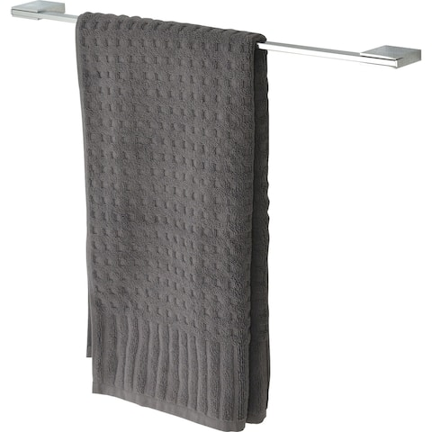 Evideco Wall Mounted Towel Bar Stainless Steel Chrome