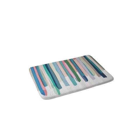 Mareike Boehmer Pastel Stripes 2 Memory Foam Bath Mat