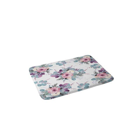 Iveta Abolina Summertime Breeze Memory Foam Bath Mat