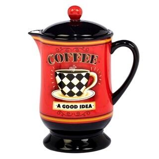 Certified International Coffee Always 40 oz. Coffee Pot