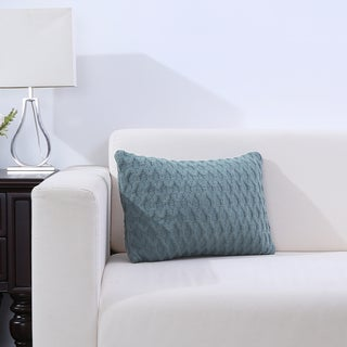 Diamond Knit Accent Pillow