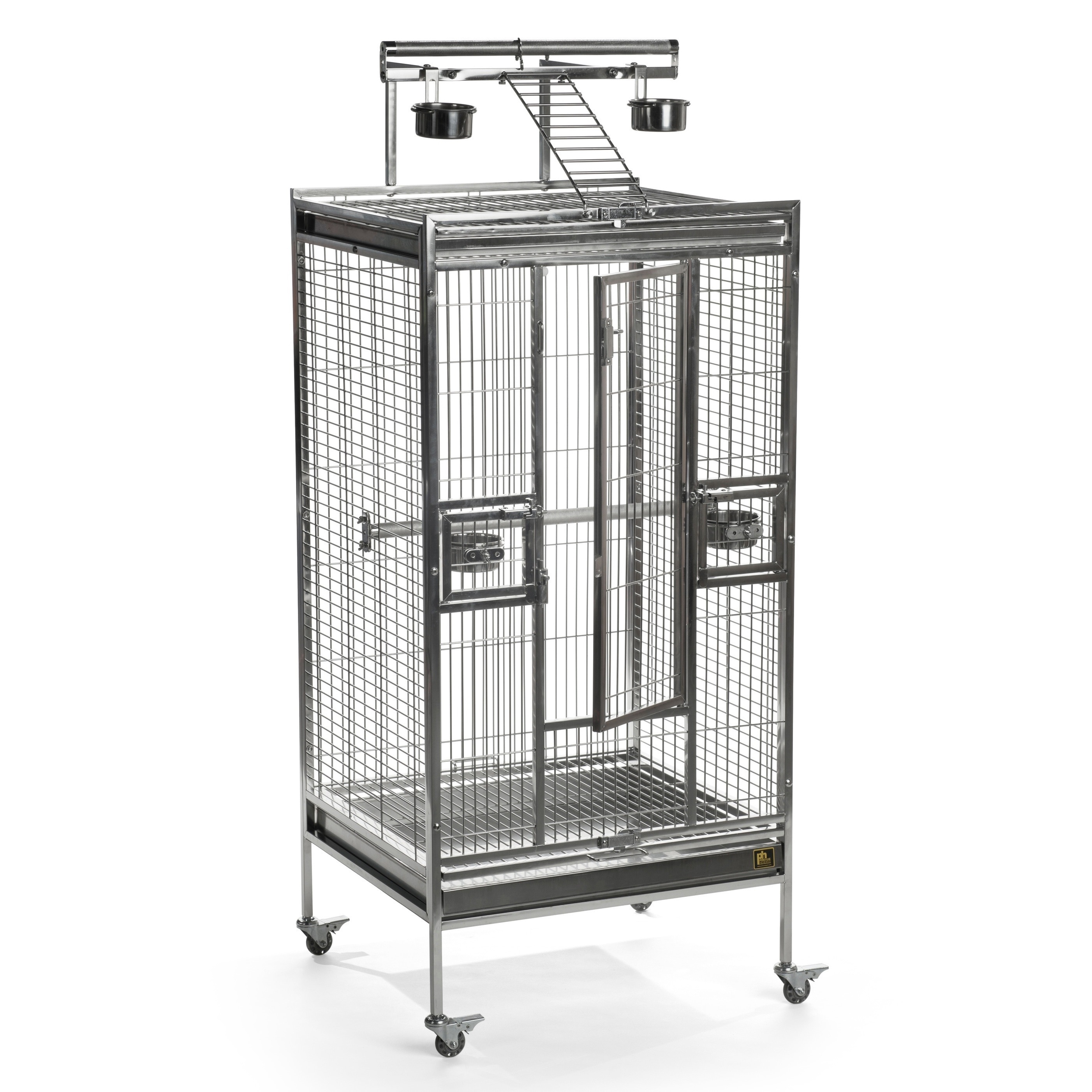 Prevue Pet Products Stainless Steel Playtop Bird Cage 3453 (Amazon)