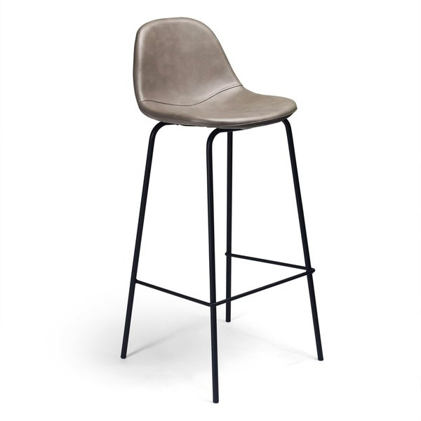 Aeon Furniture Maxine Faux Leather Bar Stool Free Shipping Today