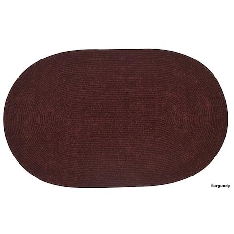 Chenille Reversible Braided Rug