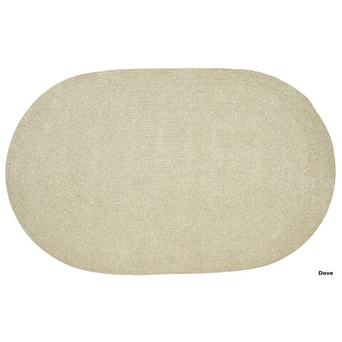 Chenille Reversible Braided Rug - 8' x10'