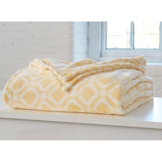 Home Fashion Designs Liliana Collection Ultra Velvet Plush Printed Bed Blanket