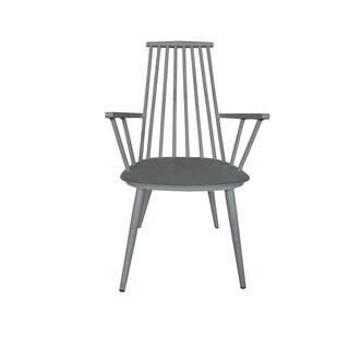 Hancock Aluminum Retro Grey Indoor/Outdoor Rustic Dining Chair (Set of 2)|https://ak1.ostkcdn.com/images/products/18118998/P24273406.jpg?impolicy=medium