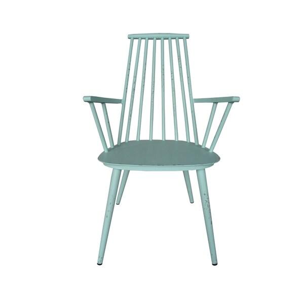 retro aluminum patio furniture. Hancock Aluminum Retro Blue Indoor/Outdoor Rustic Dining Chair (Set Of 2) Patio Furniture