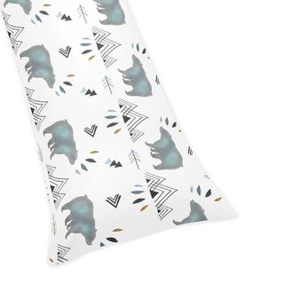 Sweet Jojo Designs Body Pillow Case for the Bear Mountain Collection