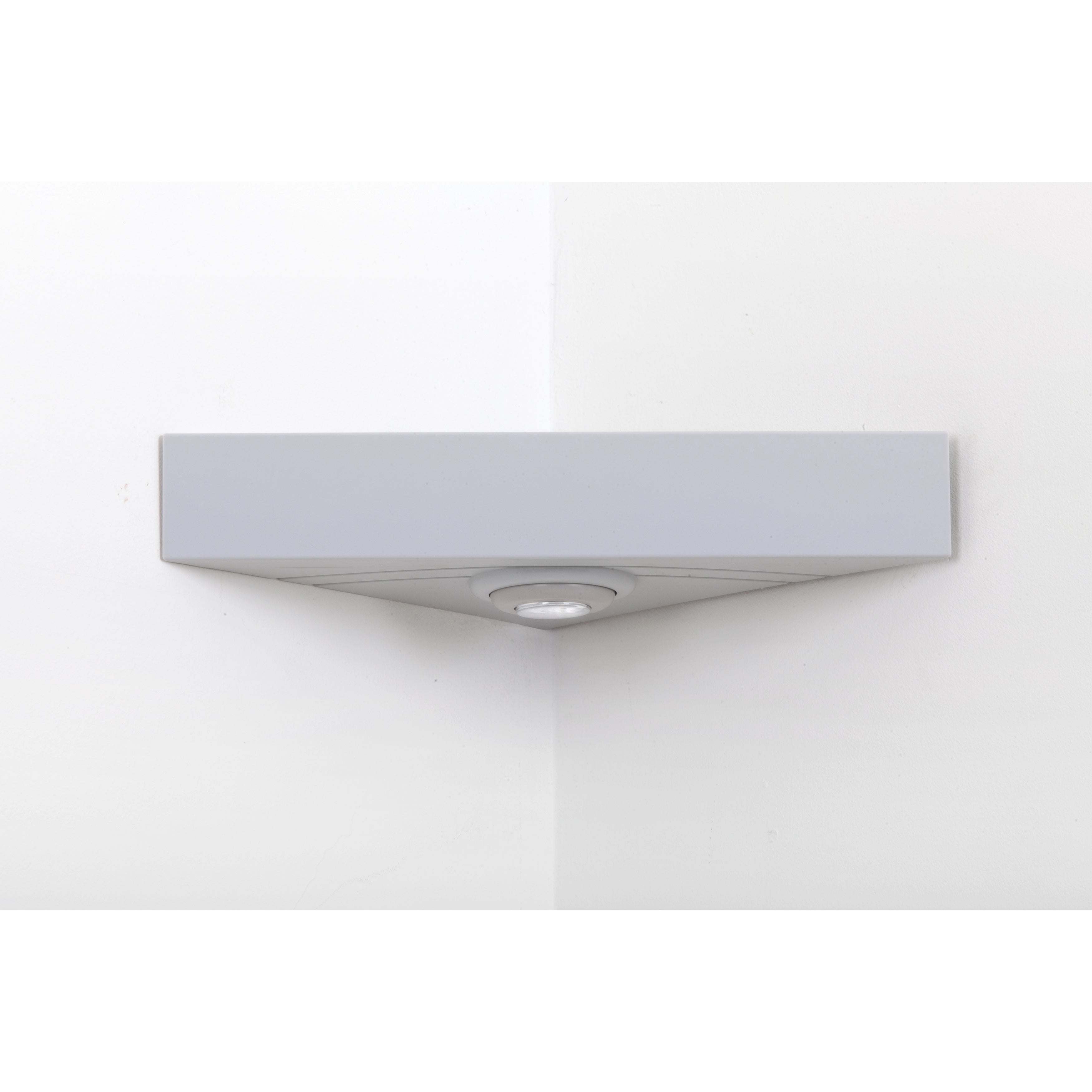 Riverstone Magic Shelf Corner Shelving System- Gray, Grey