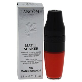 Lancome Matte Shaker Liquid Lipstick 186 Magic Orange 5