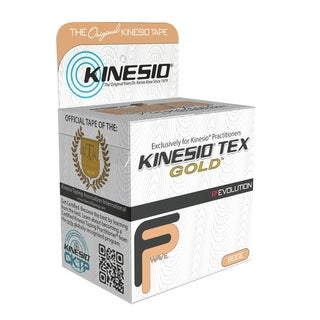 "Kinesio® Tape, Tex Gold FP, 2"" x 5.5 yds, 1 Roll"