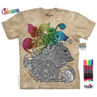 Squirrel Emaline Colorwear T-Shirt Kit by The Mountain|https://ak1.ostkcdn.com/images/products/18119863/P24274142.jpg?impolicy=medium
