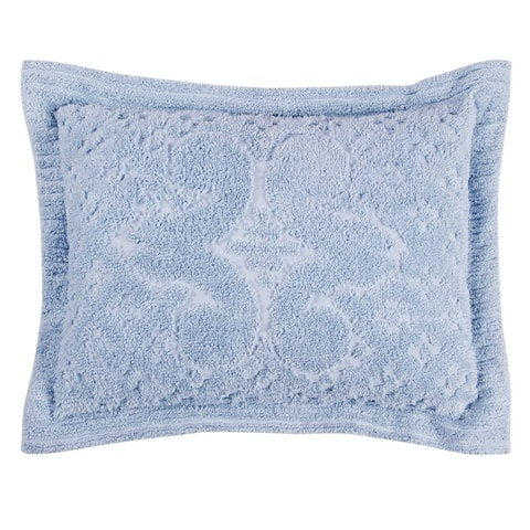 Better Trends Ashton Collection in Medallion Design 100% Cotton Tufted Chenille Bedspread or Sham Separates