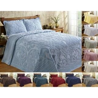 Ashton 100-percent Cotton Chenille Super Soft and Plush Bedspread (More options available)