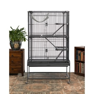 Link to Prevue Pet Products Deluxe Critter Cage 484 Similar Items in Bird Cages