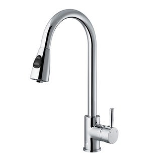 VIGO Weston Chrome Pull-Down Spray Kitchen Faucet (As Is Item)