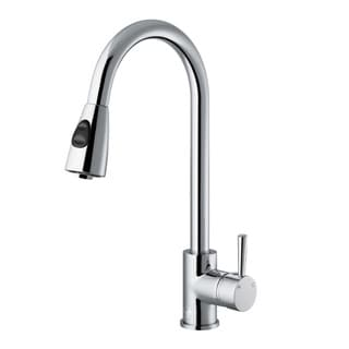 Superb VIGO Weston Chrome Pull Down Spray Kitchen Faucet (As Is Item)