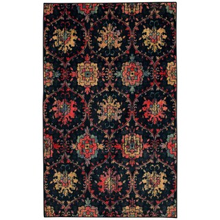 Mohawk Prismatic Amherst Floral Pattern Transitional Area Rug (8' x 10')