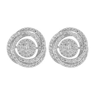 14k White Gold 1.4 Carat Swirling Stud Earrings|https://ak1.ostkcdn.com/images/products/18121741/P24275819.jpg?impolicy=medium