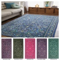 Gracewood Hollow Pivano Multicolor Traditional Area Rug - 8' x 10'