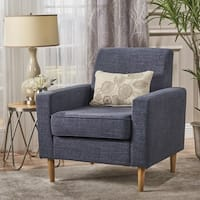 Sawyer Mid Century Modern Fabric Club Chair by Christopher Knight Home