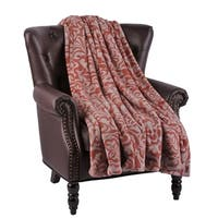 """BOON Flannel Velvet Marlie Couch Cover Throw Blanket, 60"""" x 70"""" - 60"""" x 70"""""""