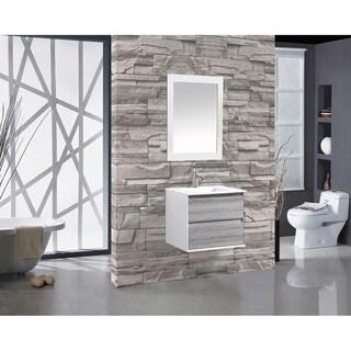 "Tahiti 24"" Single Sink Bathroom Vanity, Gray"