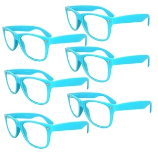 Sweet Candy Color Retro Style Sunglasses (SET OF 6)