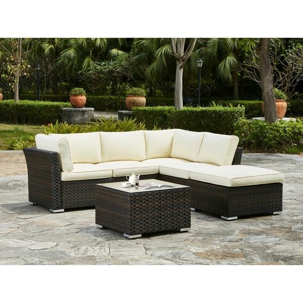Shop Thalia 5-Piece Outdoor Sectional Sofa Set - Free Shipping Today ...