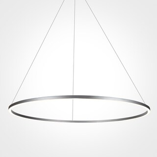 VONN Lighting VMC34911AL Tania 39-inch Modern Circular Chandelier in Silver