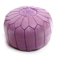 Safavieh Deidra Storage Lavender Viscose Blend Ottoman