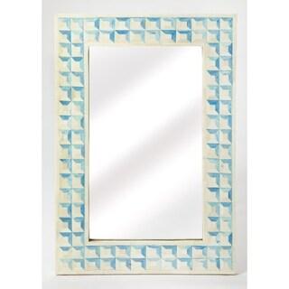Butler Serena Blue Bone Inlay Wall Mirror
