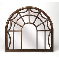 Butler Georgia Arched Window Pane Wall Mirror