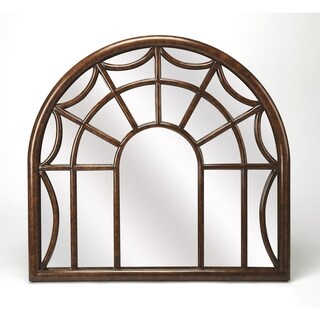 Butler Georgia Arched Window Pane Wall Mirror