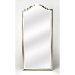 Butler Carmine Silvertone Wall Mirror