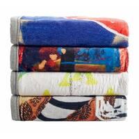 "CSN Home 60"" x 80"" Luxury High Loft High Def Printed Blanket"