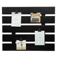 Clip Collage Pallet Black Picture Frame